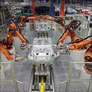 Robotique industrielle automobile